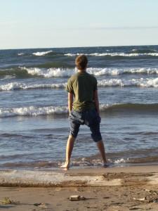 Ettore sulla riva