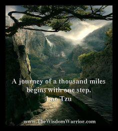 Lao Tzu Inizio del viaggio